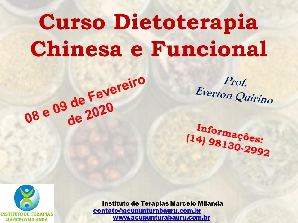 Curso de Dietoterapia Chinesa